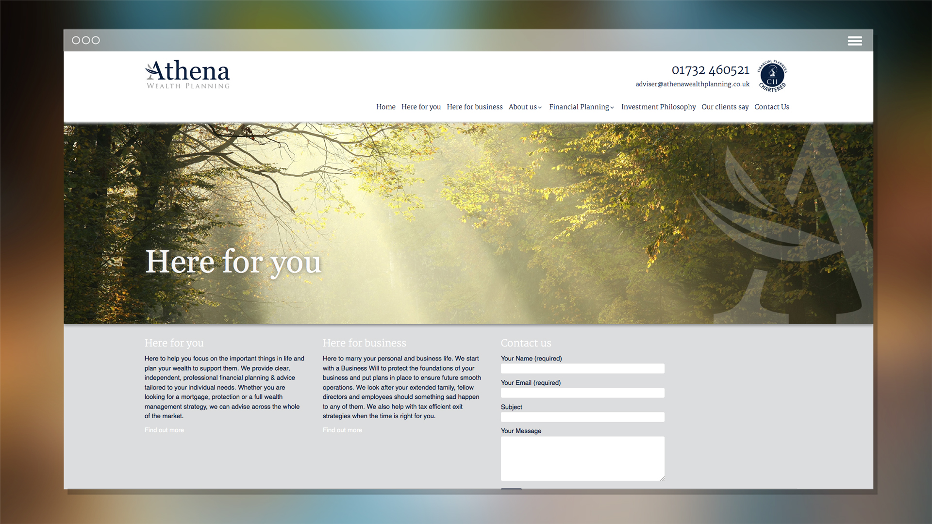 Website-Athena