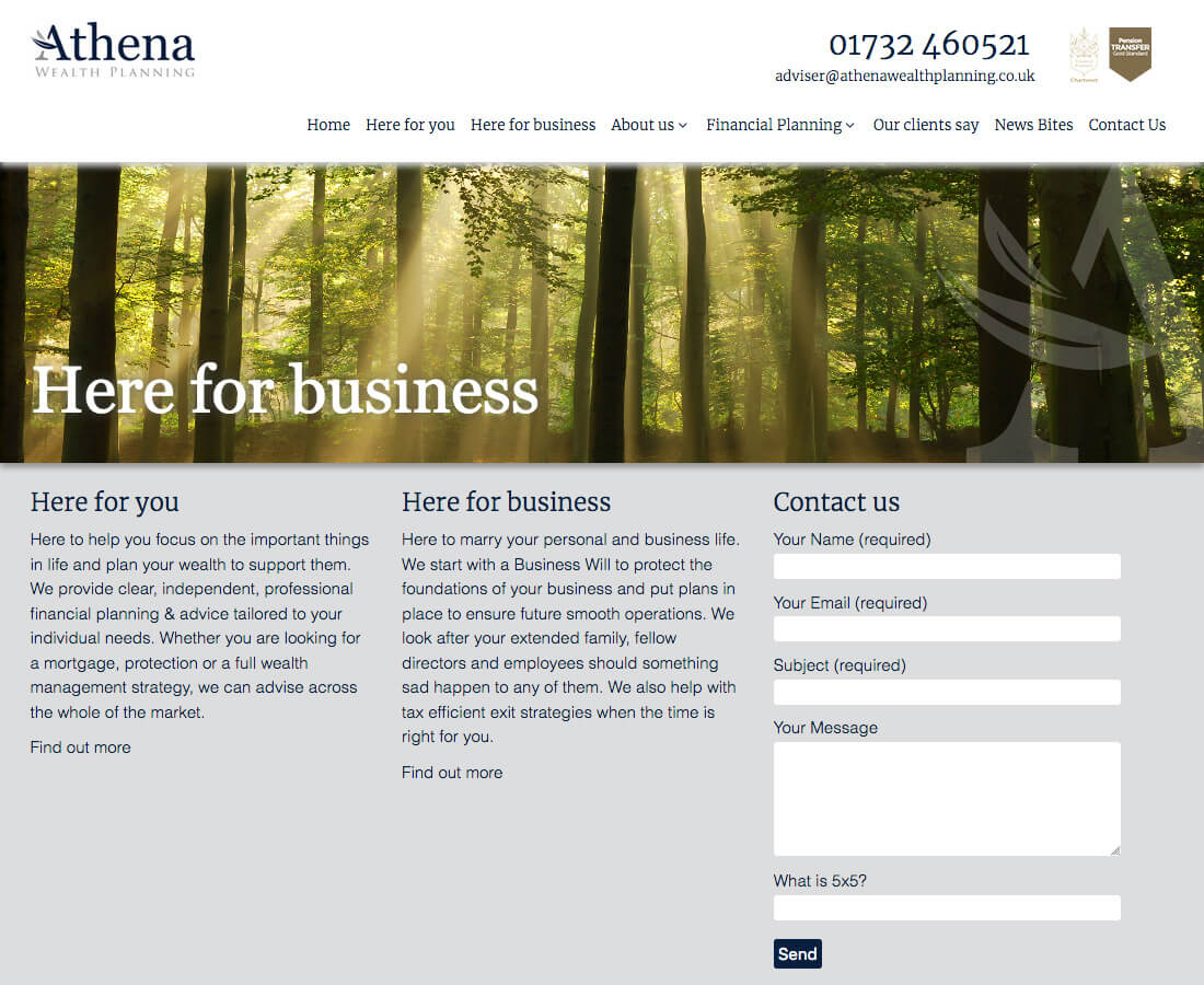 Websites-Athena