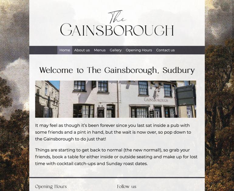 Websites_Gainsborough_Sudbury