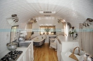 Airstream glamping at Inspired Camping