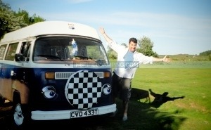 The Little Blue Campervan
