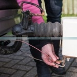 Caravan towing tips and advice safety chain