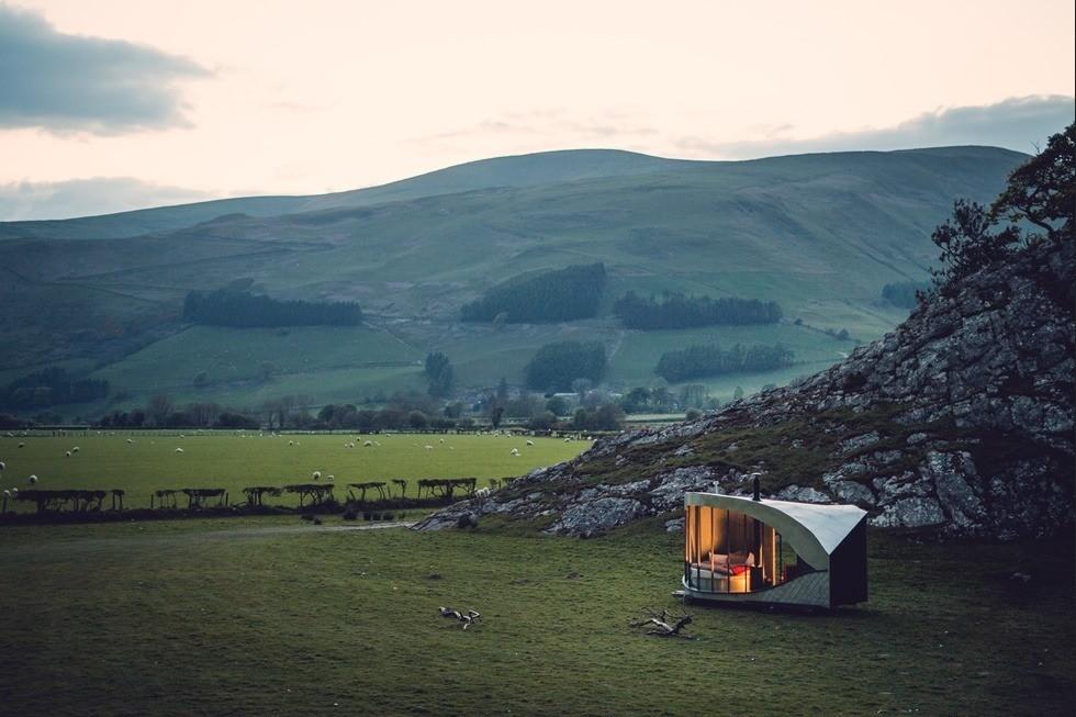 glamping Wales