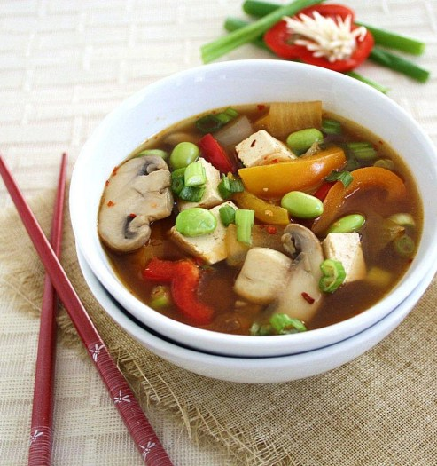 fully loaded miso soup