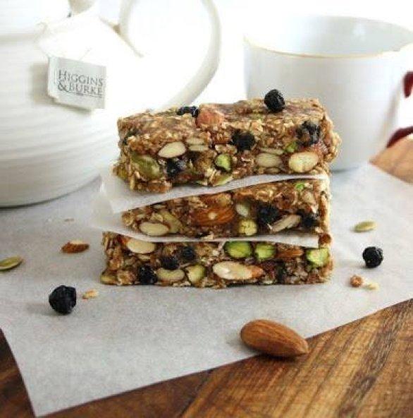 Blueberry bliss breakfast bars no bake vegan gluten free blueberry bliss breakfast barsblog1 ccuart Gallery