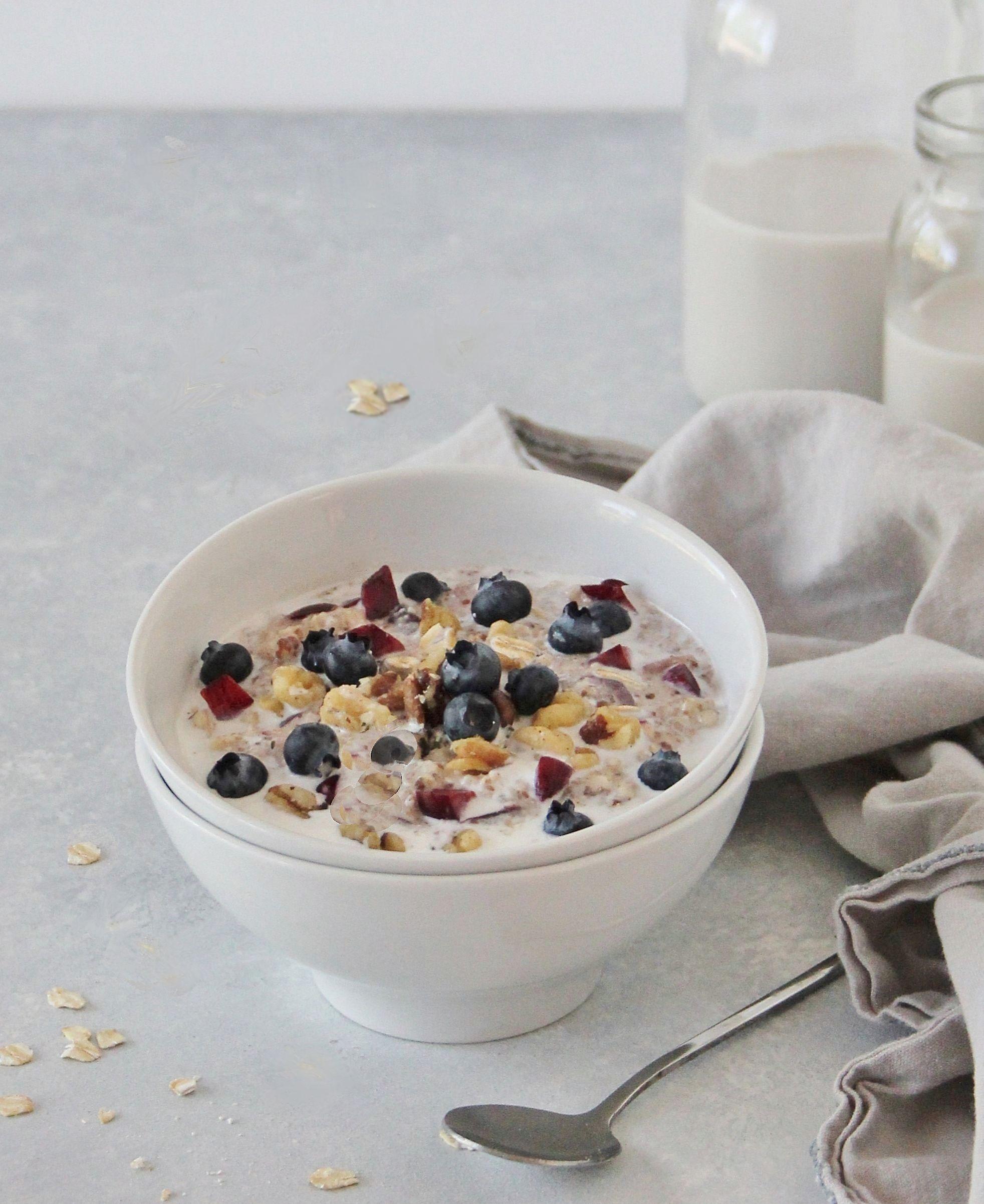 Overnight Breakfast Muesli Dairy Free Gluten Free