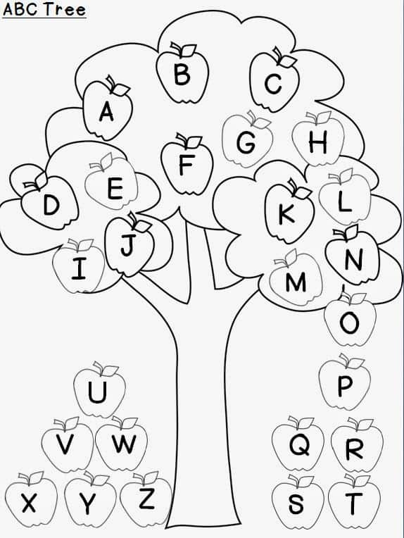 ABC Letter Recognition Activity · Inspired Elementary