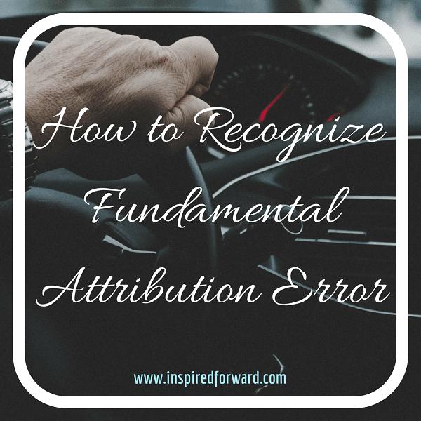 Fundamental Attribution Error Instagram