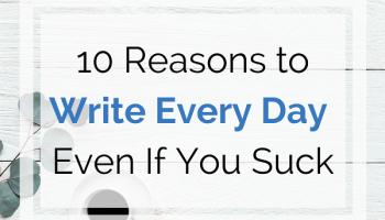 write every day instagram