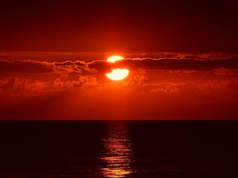 week twenty-four sunset
