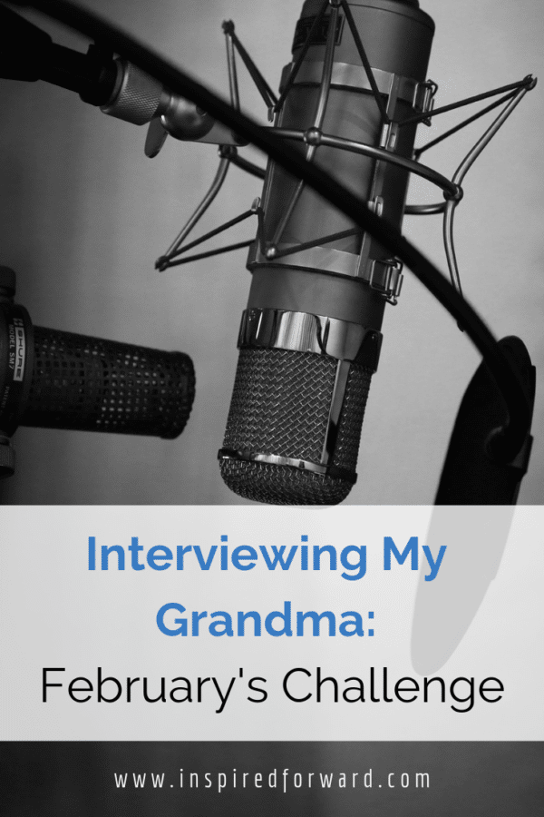 During February 2019, I'm interviewing my grandma about her long life. She's 93 this year and full of amazing stories I want to preserve for the future.