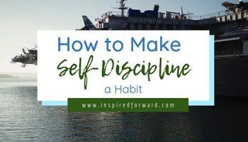 If we use self-discipline to build habits, we don't need to be disciplined all the time. But how do you build self-discipline to begin with? Find out here.