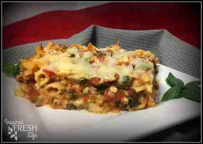 Veggie Chicken Pasta
