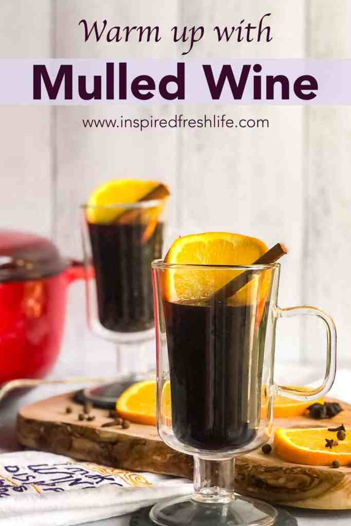 Pinterest image for Mulled Wine