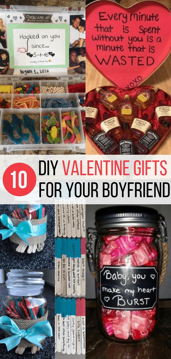 10 Diy Valentine S Gift For Boyfriend Ideas Inspired Her Way