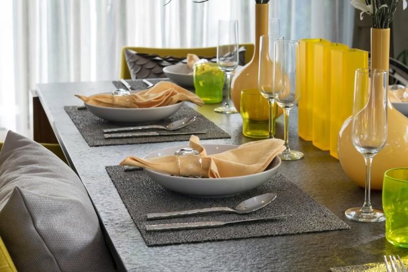 Yellow Vases Coffee Table