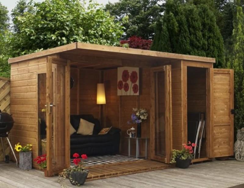 Small Wooden Garden Sheds