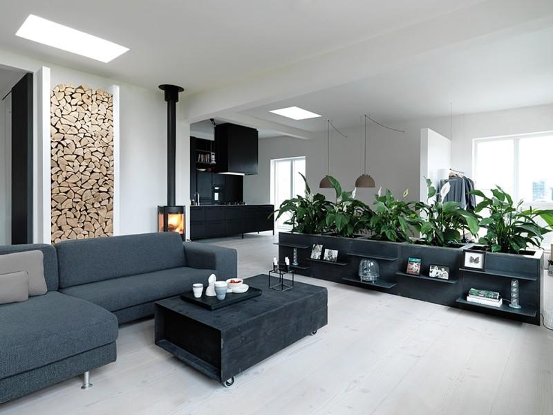 New York Style Loft Restoration Project In Copenhagen