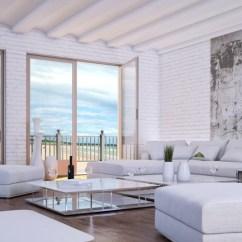 Sofa Bed Timber Slats L Shape 31 Beach Themed Interior Design Ideas