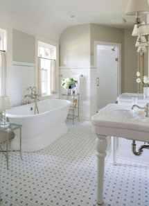 Vintage Look Bathroom Tile