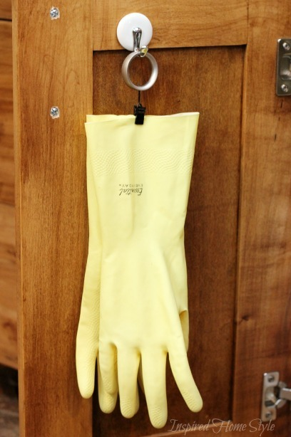 Organizing your Cleaning Gloves  Inspired Home Style