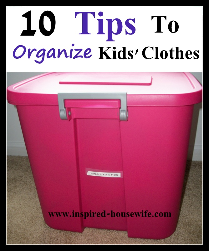 10 Steps To Organize Your Child 39 S Clothes Shoes And