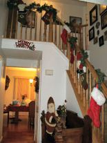 Decorated Stairway