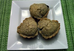 Heart-Shaped Gluten-Free Blueberry Muffins