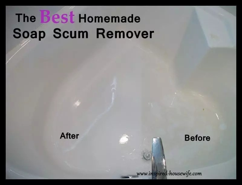 The Best Bathroom Homemade Cleaner Scum Remover  Inspired