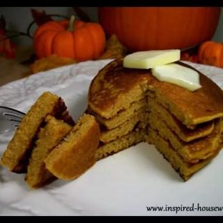 Gluten Free Holiday Pumpkin Pancakes
