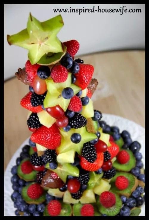Edible Fruit Arrangement Birthday Cake