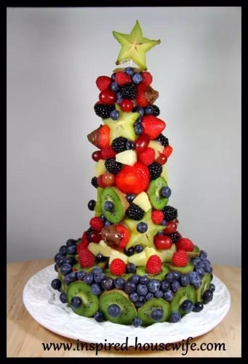 Edible Fruit Arrangement Finished Cake