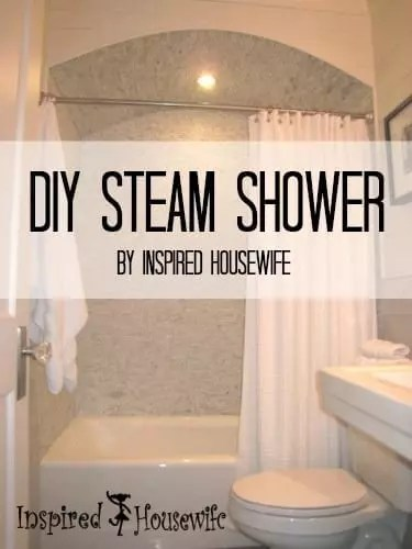 Diy steam shower inspired housewife - All you need to know about steam showers ...