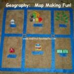 Geography: Map Making Fun!