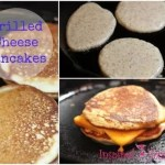 Grilled Cheese Pancakes