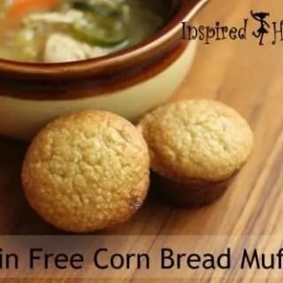 Grain Free Corn Bread Muffins