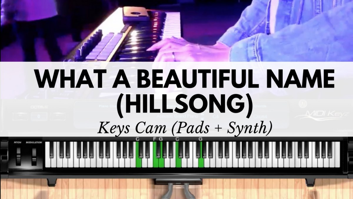 What a beautiful name pads synth cover keys cam inspired keys what a beautiful name pads synth cover keys cam inspired keys with sandra chen baditri Images
