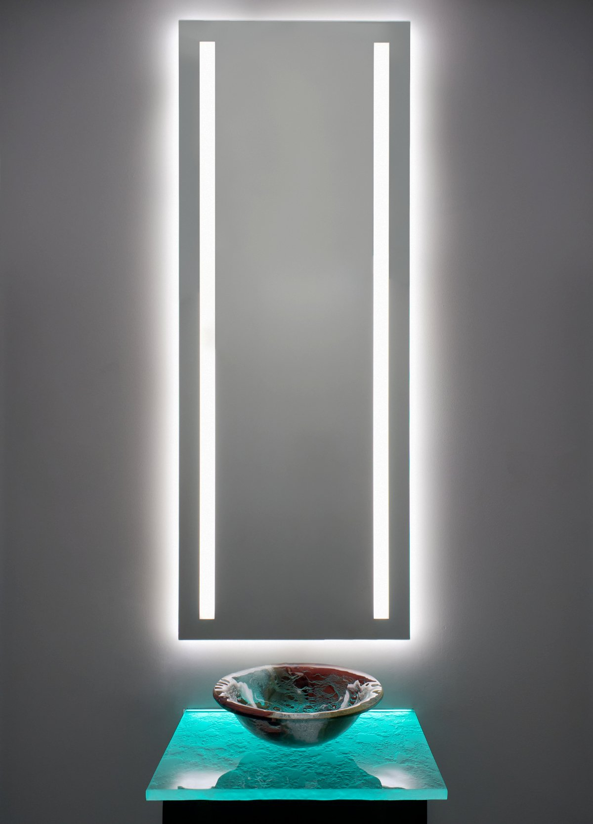 mirror led light in