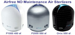 Airfree NO Maintenance Air Sterilizers