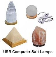 Himalayan Salt Lamps, Candleholders, Bath Salts Products