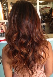 bold ombre hair colors