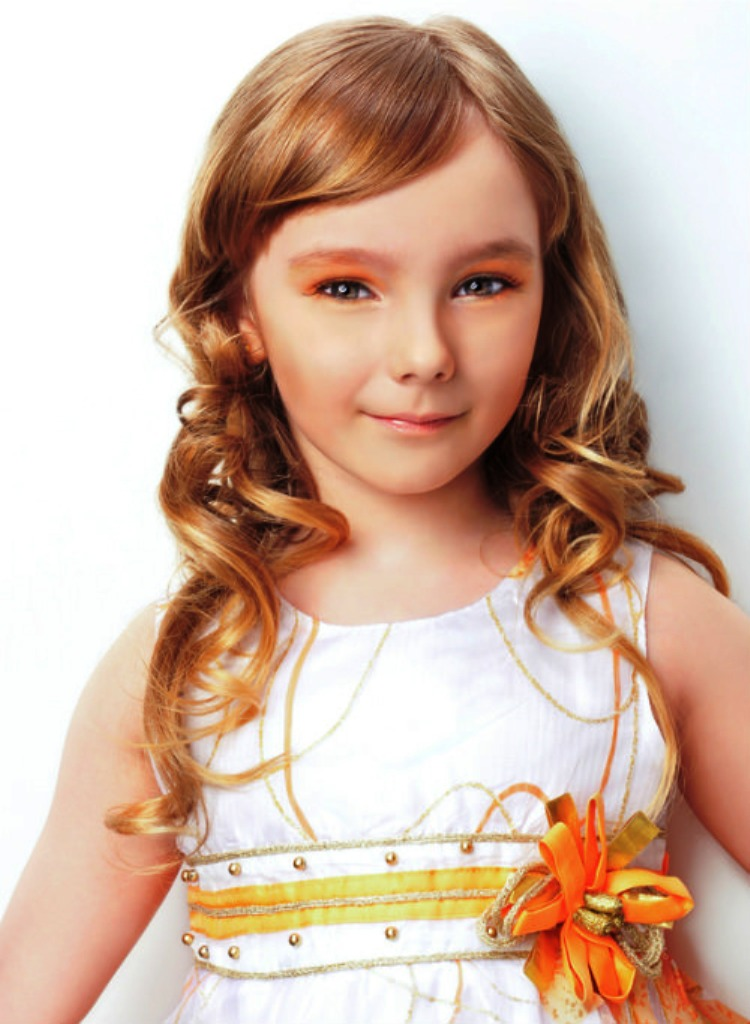 25 Cute Ideas Of Curly Hairstyle For Kids Inspired Luv