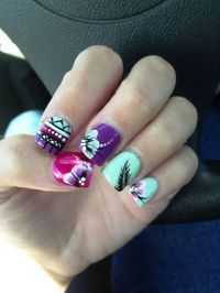 15 Feather Nail Art Designs And Ideas  Inspired Luv