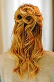elegant curly