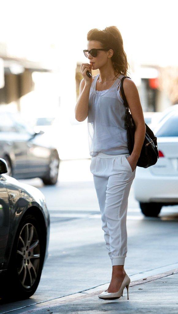 Cute Minimalist Wallpaper 25 Stylish Sweat Pants Outfits