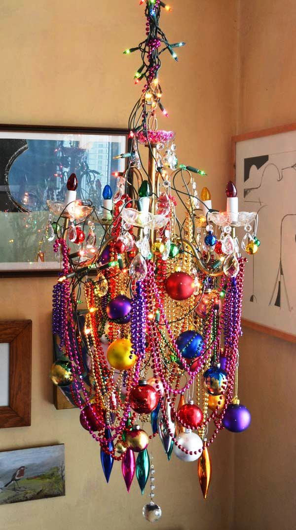 Chandelier Decoration For Christmas Ideas