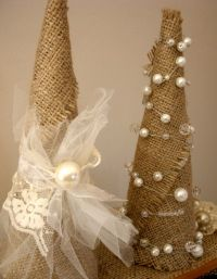 25 Shabby Chic Christmas Decoration