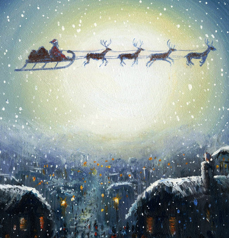 Cute Christmas Iphone 5 Wallpaper 31 Best Christmas Santa Wallpapers