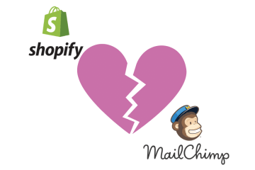 Shopify and Mailchimp Divorce