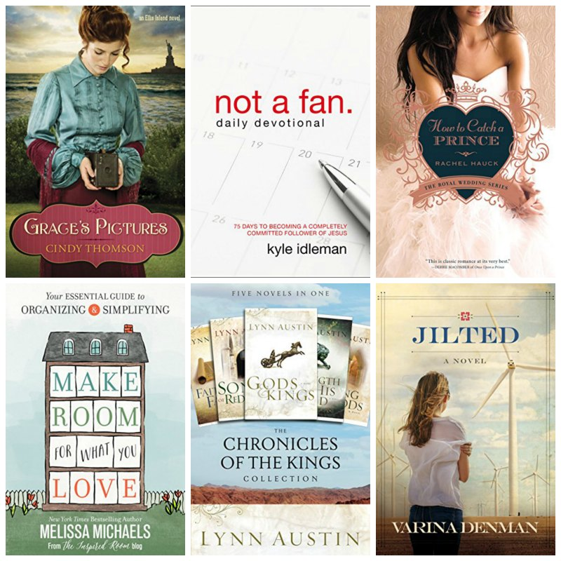 Saturday's Christian Kindle EBook Deals Inspired Reads